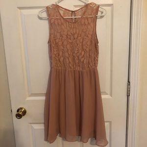 Pink Blush Formal Dress